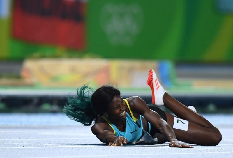 Olimpiyat Oyunları'nda tarihi olay 8