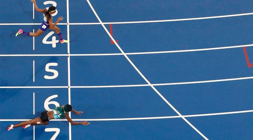 Olimpiyat Oyunları'nda tarihi olay 9