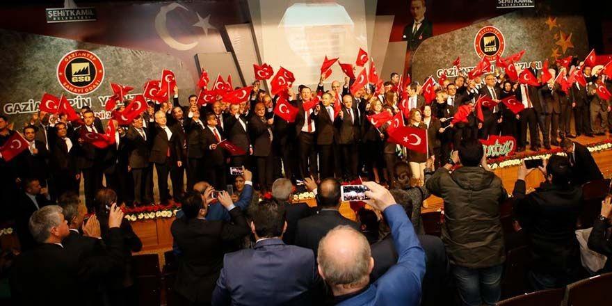 """GAZİANTEP'İN YILDIZLARI ÖDÜL TÖRENİ"""" YAPILDI"""