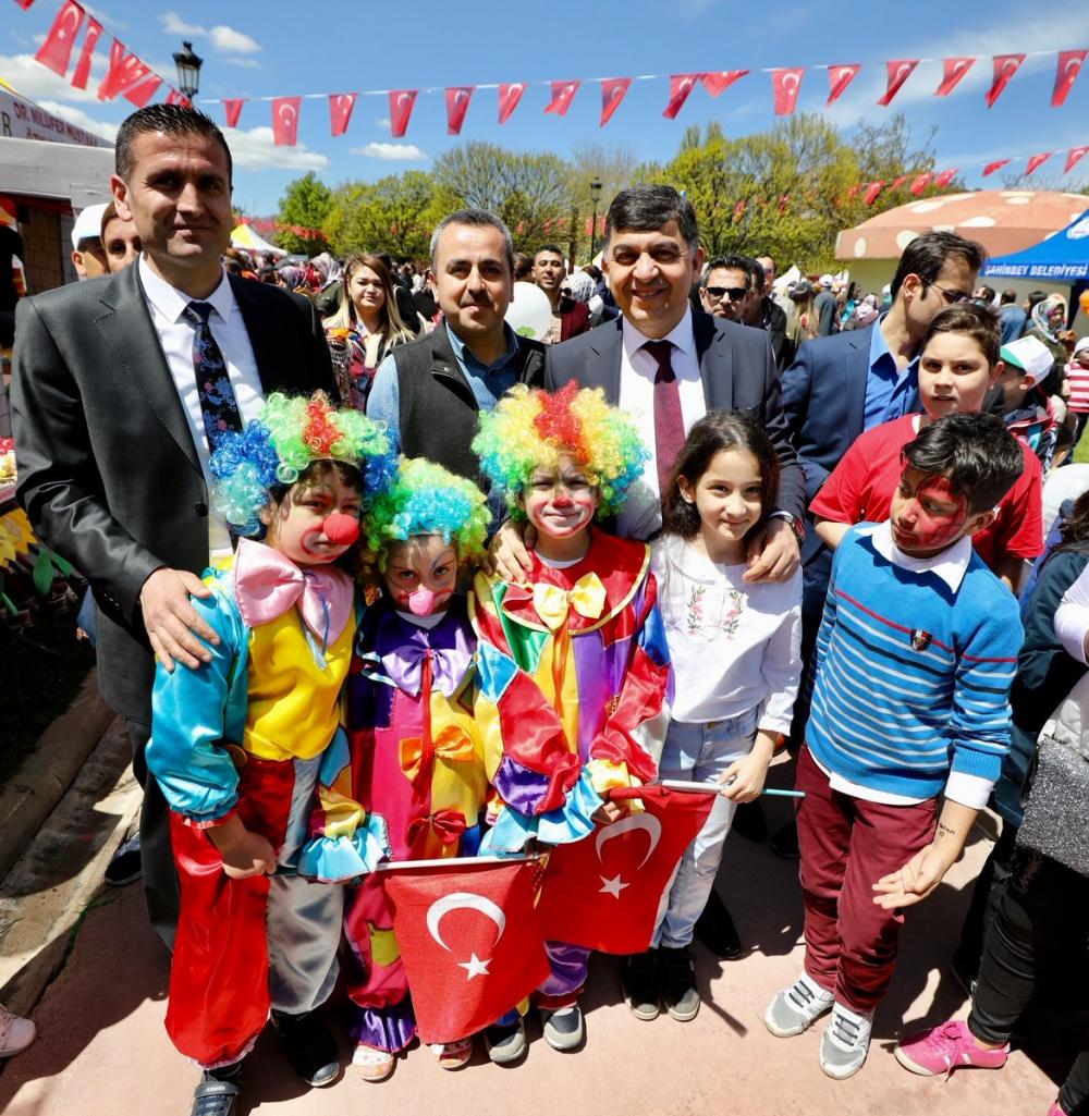 Gaziantep'te 23 Nisan coşkusu 10