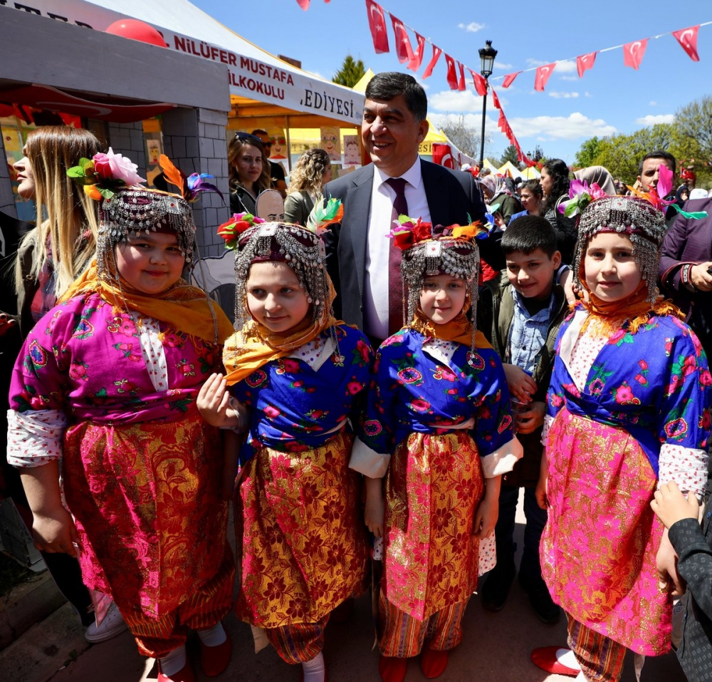 Gaziantep'te 23 Nisan coşkusu 11