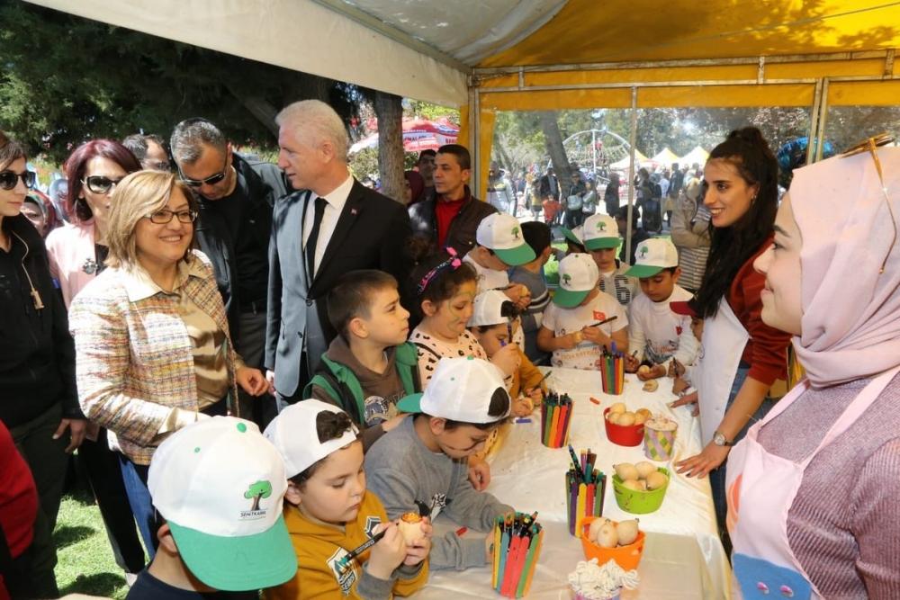 Gaziantep'te 23 Nisan coşkusu 2
