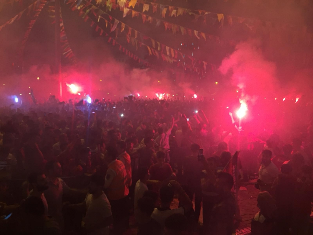 Gaziantep'te Süper Lig sevinci 1