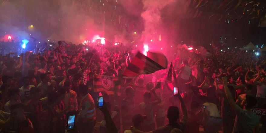 Gaziantep'te Süper Lig sevinci