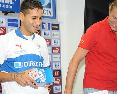 Sosa Club Deportivo Universidad Catoica'da 15