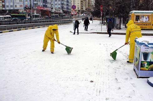 Gaziantep'ten kar manzaraları 4