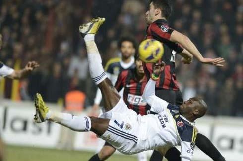 Gaziantepspor-Fenerbahçe (Süper Lig 19.Hafta) 4