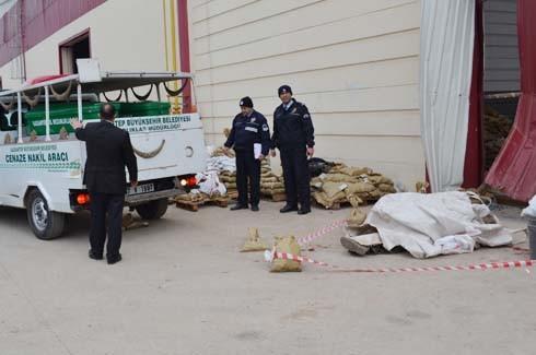 4.Organize Sanayi'de Galvaniz Fabrikası'nda patlama 16
