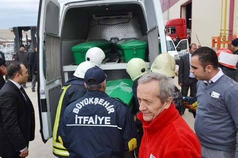 4.Organize Sanayi'de Galvaniz Fabrikası'nda patlama 22