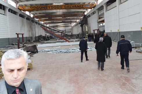 4.Organize Sanayi'de Galvaniz Fabrikası'nda patlama 25