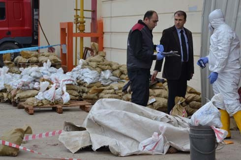 4.Organize Sanayi'de Galvaniz Fabrikası'nda patlama 3