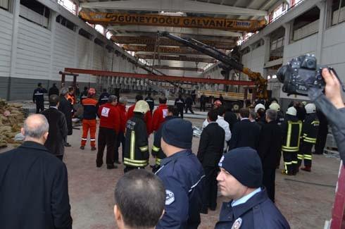4.Organize Sanayi'de Galvaniz Fabrikası'nda patlama 31