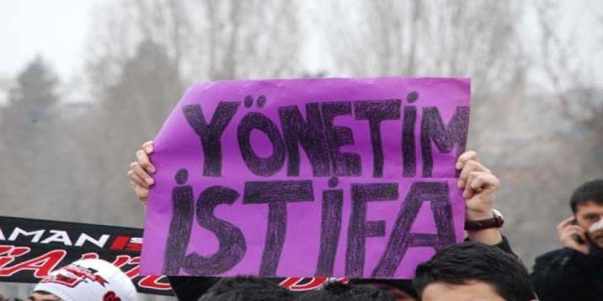 Gaziantepspor yönetimine istifa tepkisi