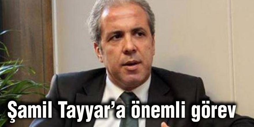 Şamil Tayyar'a önemli görev