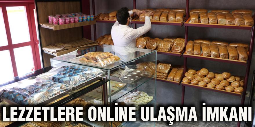Lezzetlere online ulaşma imkanı