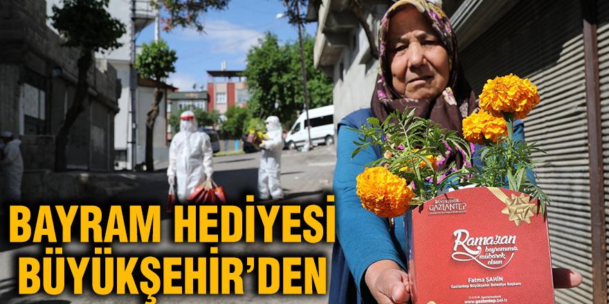 Bayram hediyesi Büyükşehir'den