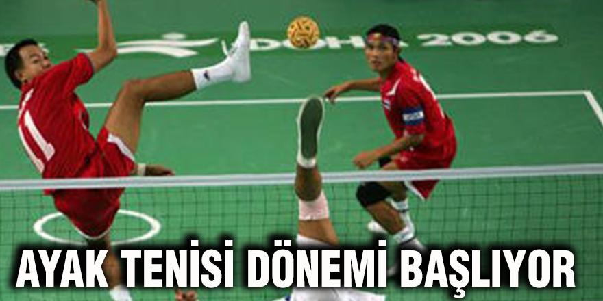 Ayak tenisi dönemi başlıyor