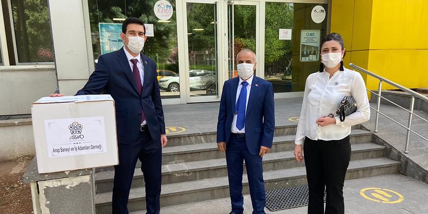 50 bin maske dağıttılar