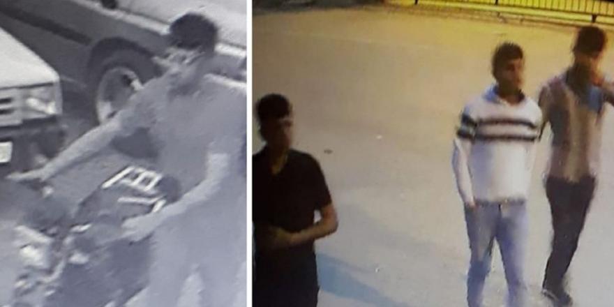 Hırsızlar faka bastı