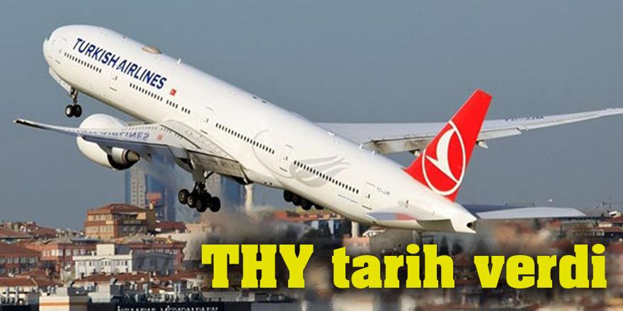 THY yurt dışı uçuşları için tarih verdi
