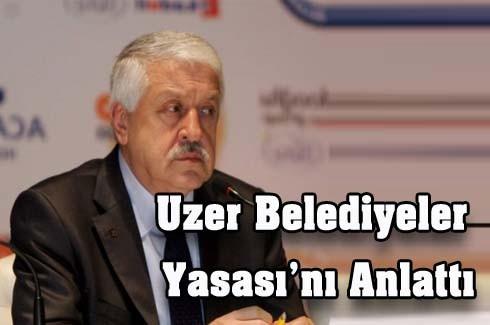 Ahmet Uzer Yasaları Anlattı