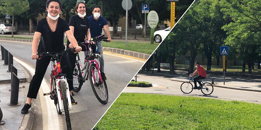 Büyükşehir'den bisiklet etkinliği
