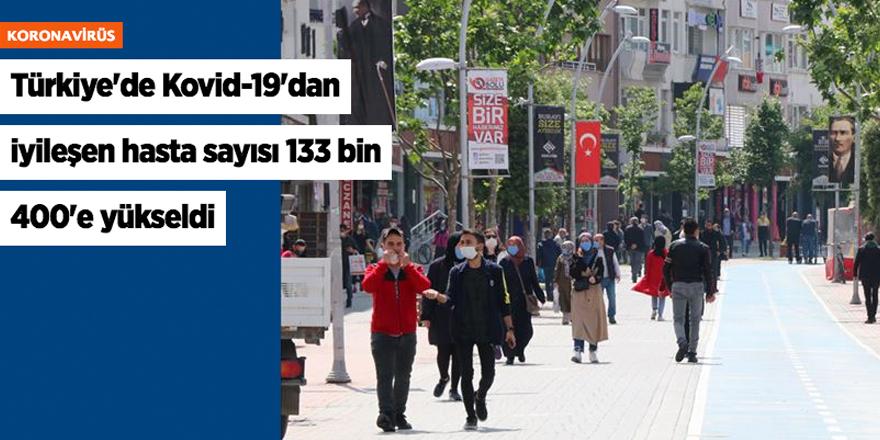 Türkiye'de Kovid-19'dan iyileşen hasta sayısı 133 bin 400'e yükseldi