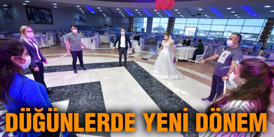 Düğünlerde yeni dönem