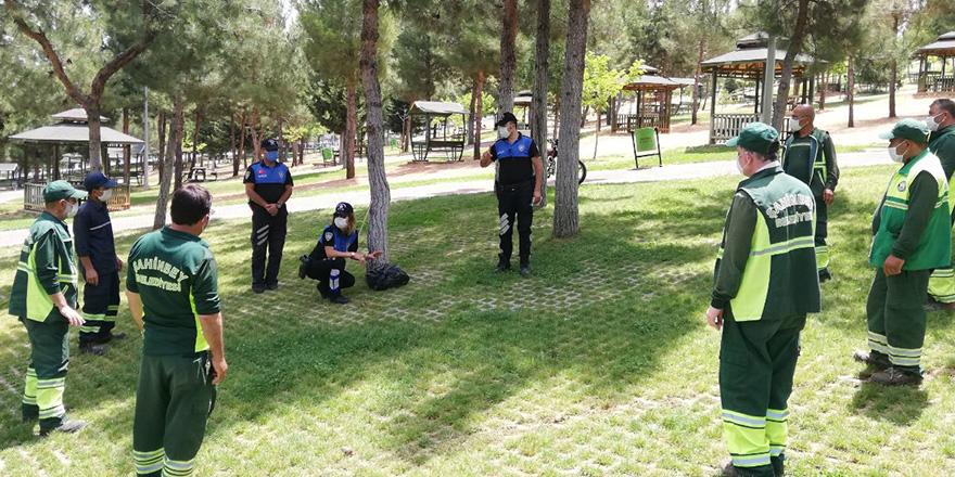 Park ve bahçe görevlilerine önemli bilgi