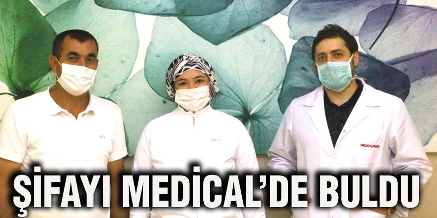 Şifayı Medical'de buldu