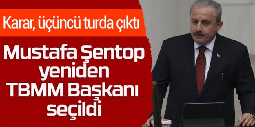 Mustafa Şentop yeniden Meclis Başkanı seçildi