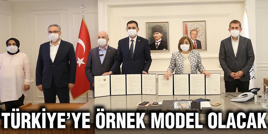 Türkiye'ye örnek model olacak