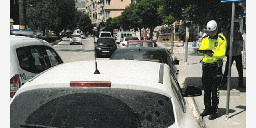 Engelliler için ayrılan yere park cezası