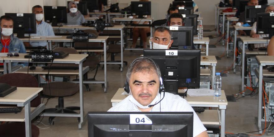 Yabancı öğrencilere on-line sınav