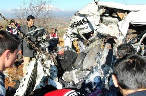 10 Kişinin öldüğü kazada sürücüye 10 yıl hapis cezası