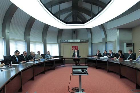 CHP, MYK toplantısı yapıldı