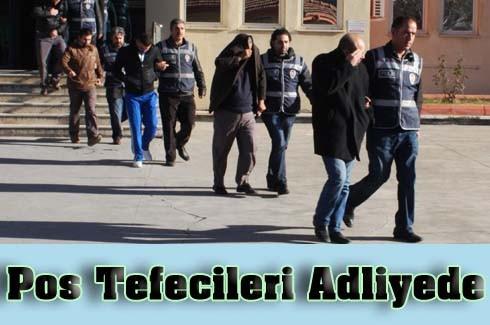 Pos Tefecileri Adliye'de