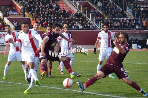Gaziantepspor'a inegöl şoku 3-2