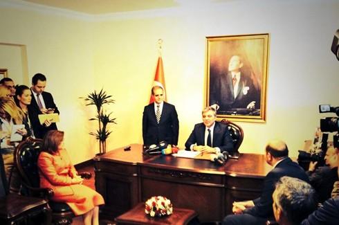 Abdullah Gül Kilis'te