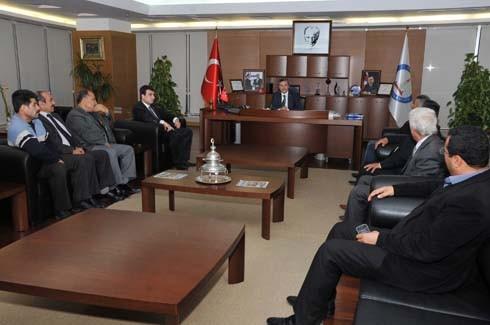 MHP Şahinbey'den Tahmazoğlu'na Ziyaret
