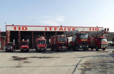 Akşehir itfaiyesi 2013te 310 yangına müdahale etti