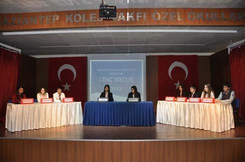 GKV Genç Meclis çalışmalarına başladı