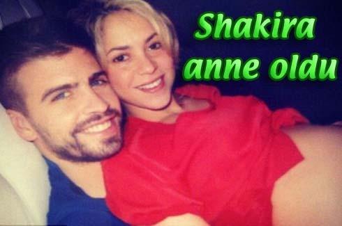 Shakira anne oldu