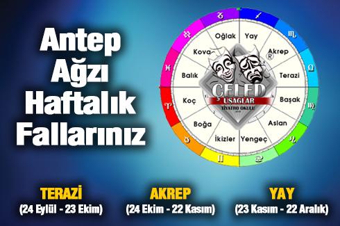 TERAZİ - AKREP - YAY