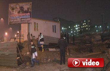 Bekçi kulübesi yandı: 1 ölü