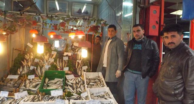 Balığın fiyatı da satışı da arttı