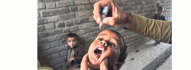 Hindistan çocuk felcini yenmeyi başardı