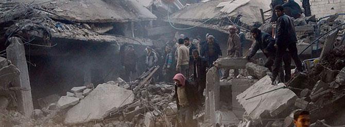 Suriyede her 12 dakikada 1 kişi ölüyor