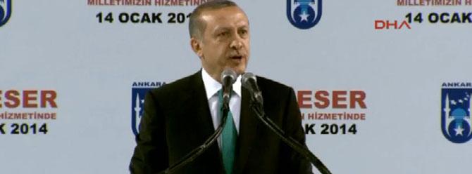 Erdoğan: Milli ne varsa ona kastediyorlar