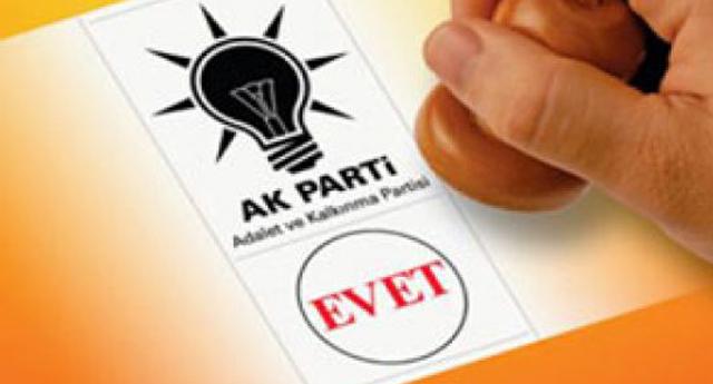 AK Parti\'de işlem tamam